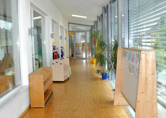 Flur im Kindergarten